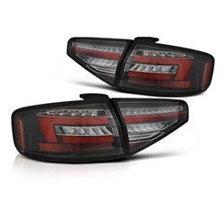 Coppia fari Led Bare DTS posteriori Audi A4 B8 12-15 berlina Neri