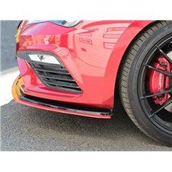 Sottoparaurti splitter anteriore V.3 Seat Leon MK3 Cupra 2017-
