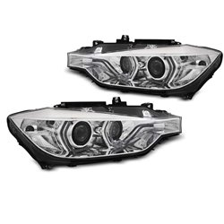 Fari DRL e Xenon BMW F30-F31 AFS 11-15 berlina & station Chrome