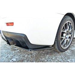 Sottoparaurti splitter laterali posteriori Mitsubishi Lancer EVO X 07-15
