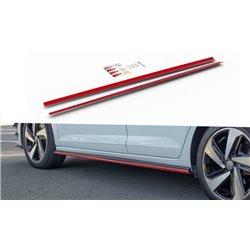 Sottoporta diffusori minigonne Volkwagen Polo VI GTi 2017-