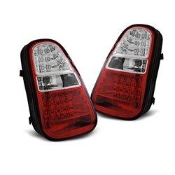 Coppia fari posteriori LED Mini R50 / R52 / R53 04-06 Rossi e Bianchi