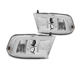 Fari Tube Light Dodge Ram 09-18 Chrome