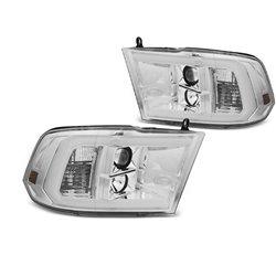 Fari Tube Light Dodge Ram 09-18 Chrome