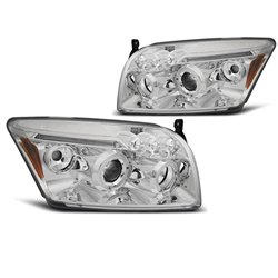 Fari Angel Eyes Dodge Caliber 06-12 Chrome