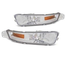Frecce anteriori Mustang 04-09 Chrome