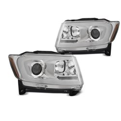 Fari Tube light e DTS Chrysler Jeep Grand Cherokee 11-13 Chrome