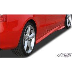 Minigonne laterali sottoporta Audi A5 Coupé + Cabrio Turbo-R