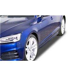 Minigonne laterali sottoporta Audi A5 F5 Coupé + Cabrio + Sportback Slim