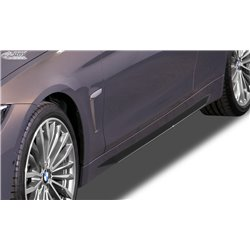 Minigonne laterali BMW Serie 4 F32 / F33 / F36 Slim