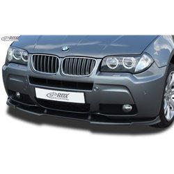 Sottoparaurti anteriore BMW X3 E83 2006- M-Tech