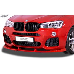 Sottoparaurti anteriore BMW X3 F25 2014-2017 M-Sport / M-Tech