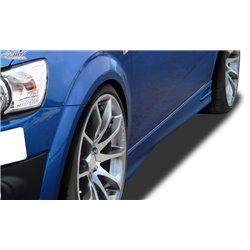 Minigonne laterali Chevrolet Aveo T300 GT4