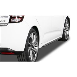 Minigonne laterali Citroen C3 2009-2017 Slim