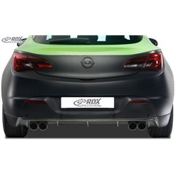 Sottoparaurti posteriore Opel Astra J GTC per doppio scarico