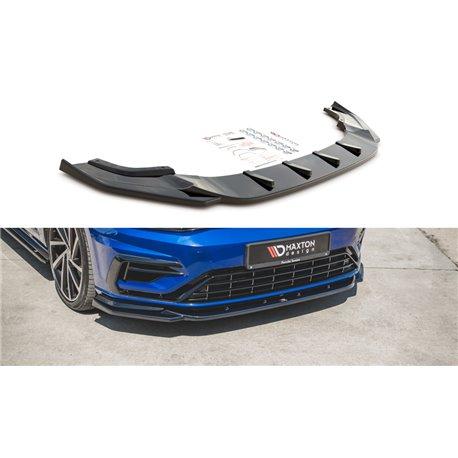 Sottoparaurti splitter anteriore V.9 Volkwagen Golf VII 7 R 2017-2020
