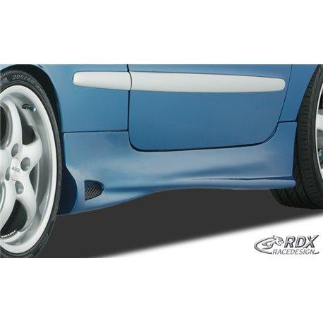 Minigonne laterali Peugeot 206 / 206CC GT4 ReverseType