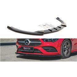 Sottoparaurti splitter anteriore V.2 Mercedes CLA C118 / X118 AMG-Line 2019-