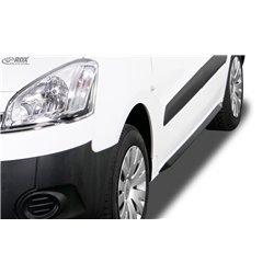 Minigonne laterali Peugeot Partner 2008-2018 Slim
