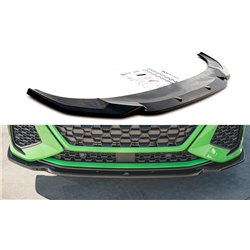 Sottoparaurti splitter anteriore V.1 Audi RSQ3 Sportback (F3) 2019-