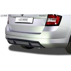 Sottoparaurti diffusore posteriore Skoda Fabia 3 (5J / NJ) 2014-2019