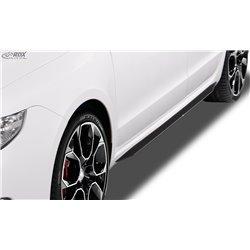 Minigonne laterali Skoda Superb 2 (3T) 2008-2013 Slim