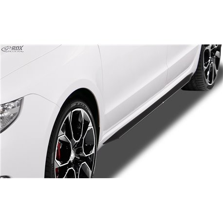 Minigonne laterali Skoda Superb 2 (3T) 2008-2013 Slim