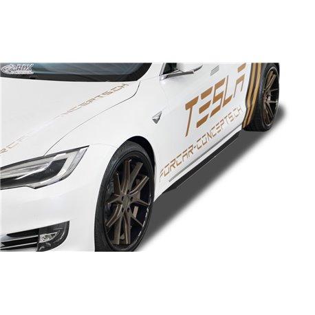 Minigonne laterali Tesla Model S 2016- Slim