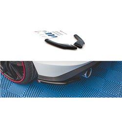Sottoparaurti splitter laterali posteriore Volkswagen Golf 8 GTI 2020 -