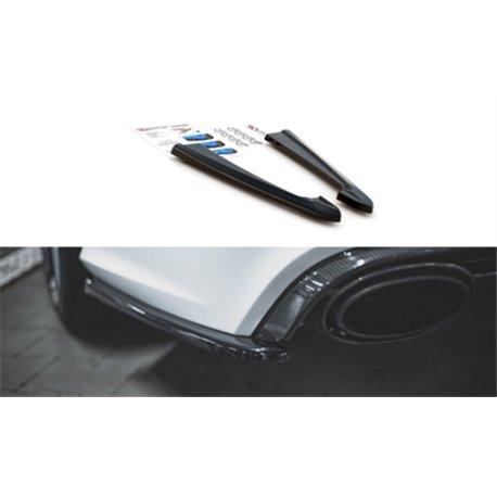 Sottoparaurti splitter laterali V.2 Audi RS6 C7 2013-2017