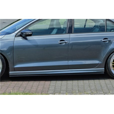 Minigonne laterali sottoporta Audi A4 B7 2004-2008