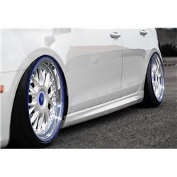 Minigonne laterali sottoporta Audi A4 B8 2007-