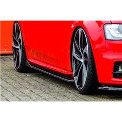 Minigonne laterali sottoporta Audi A4 B8 S4 + S-Line 2011-2015