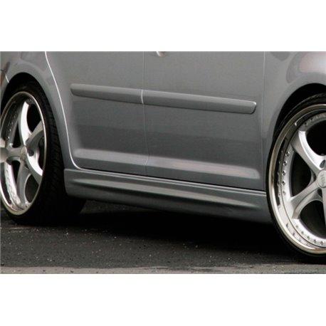 Minigonne laterali sottoporta Audi A5 + S5 B8-B81 2007- Coupe / Cabrio