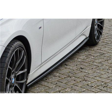 Minigonne laterali sottoporta Audi A5 B9 2016- S-Line