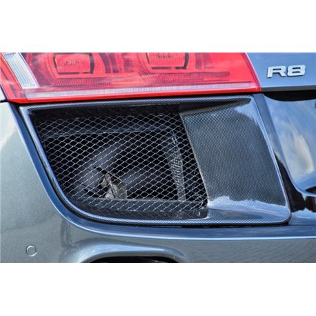 Prese d'aria per paraurti posteriore Audi R8 42 2006-2015