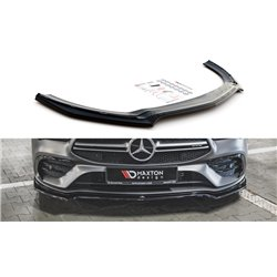 Sottoparaurti splitter anteriore V.1 Mercedes AMG CLA 35 Aero C118 2019-