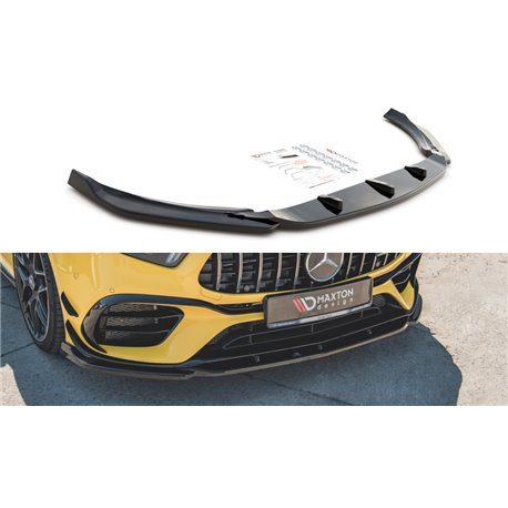 Sottoparaurti splitter anteriore V.2 Mercedes AMG A 45 S W177 2019-