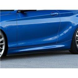 Minigonne sottoporta BMW Serie 1 F20 F21 2011- + M-Pack