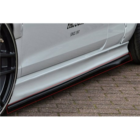 Minigonne sottoporta BMW X1 E84 2009-2012