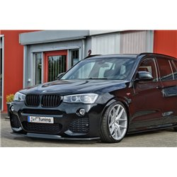 Sottoparaurti anteriore BMW X3 F25 2014-2017 M-Pack