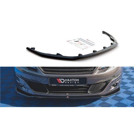 Sottoparaurti splitter anteriore V.1 Peugeot 308 Mk2 2017-