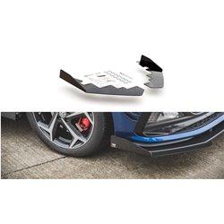Flaps aerodinamici inferiori Volksvagen Polo GTI Mk6 2017- nero lucido