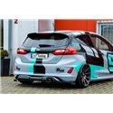 Sottoparaurti estrattore posteriore Ford Fiesta ST MK8 2018-