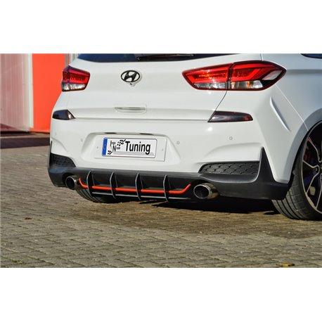 Sottoparaurti estrattore posteriore Hyundai I30N 2017-