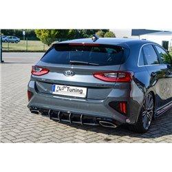 Sottoparaurti estrattore posteriore Kia Ceed GT 2018-