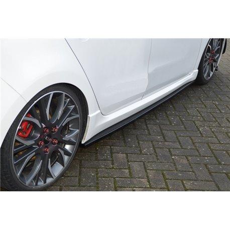 Minigonne laterali sottoporta Kia Ceed GT 2018-