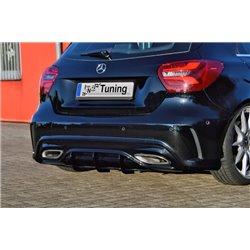 Sottoparaurti estrattore posteriore Mercedes Classe A W176 45 AMG MOPF 2015-