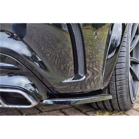 Sottoparaurti posteriore laterali Mercedes CLA C117 AMG 2012-