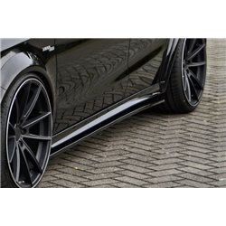 Minigonne laterali sottoporta Mercedes CLA45 AMG, C176, 245G+AMG-Line 2012-